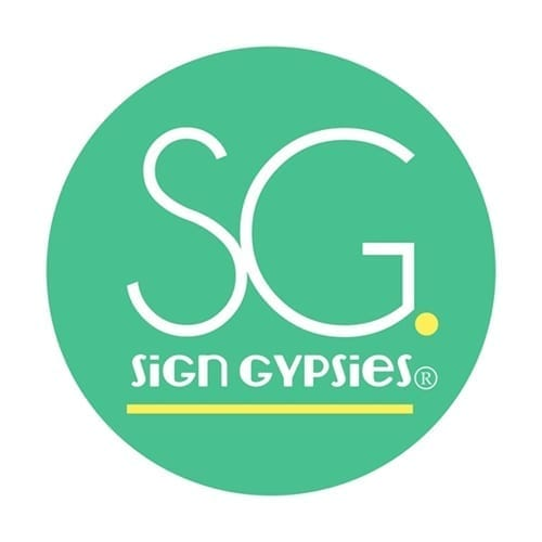 Sign Gypsies Greater Victoria